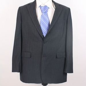 Brooks Brothers 346 Charcoal Gray Blazer Size 42L